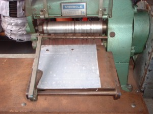merkel rubber cutting machine